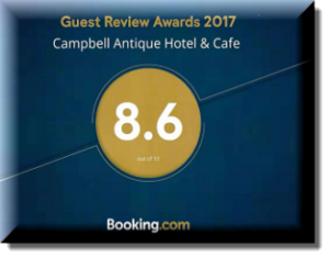 campbell antique hotel awards